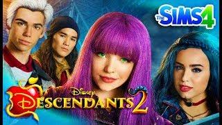One of GamingMermaid's most viewed videos: DESCENDANTS 2 - Sims 4 Create a Sim | Disney's Descendants