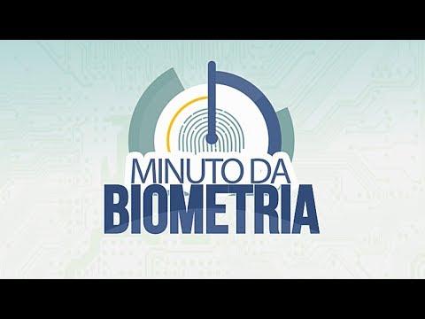 Minuto da Biometria (Cadastramento biométrico)