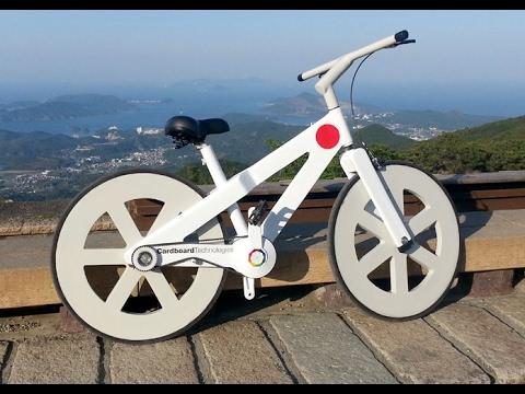 C mo hacer una bicicleta de cart n cardboard for Como se hace una pileta de material