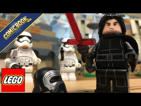 LEGO Star Wars: Battle of Takodana Set - Maz Kanata & Kylo Ren!