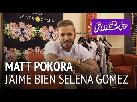 """Matt Pokora : """"J'aime bien Selena Gomez"""""""
