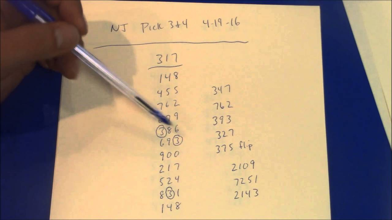 Pick 3 Pick 4 Workouts 4 19 16 Ca Fl Ga Il In Ks La Mi Mo Nc Nj Ny