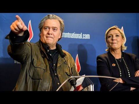 """Let them call you racists"" - Former Trump strategist Steve Bannon addresses French National Front"