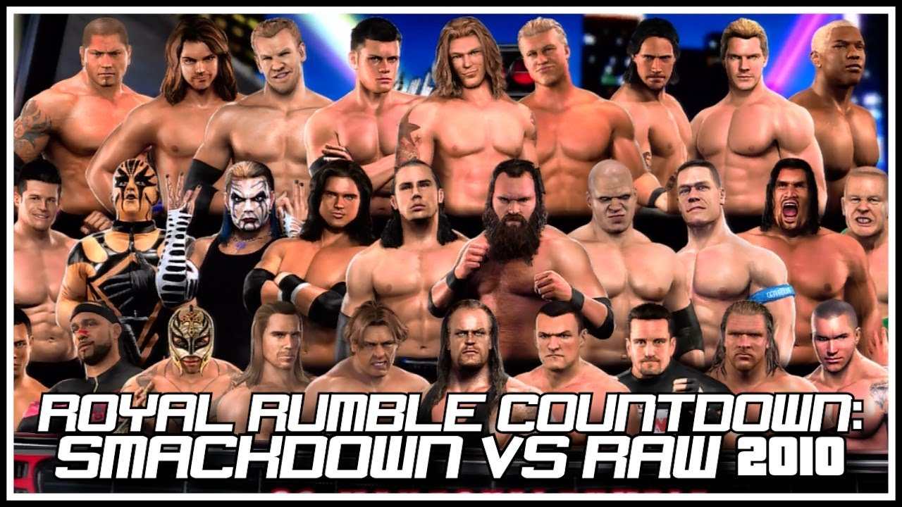 Wwe smackdown vs raw 2010 highly compressed offline psp game.