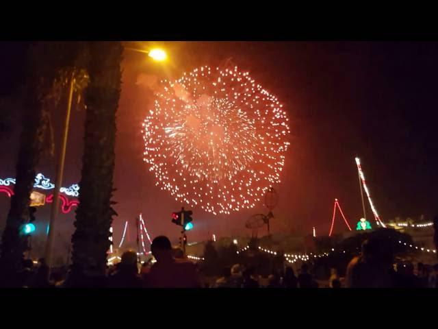 Malta festival – single biggest firework ever !! World Record …. Sept 2016