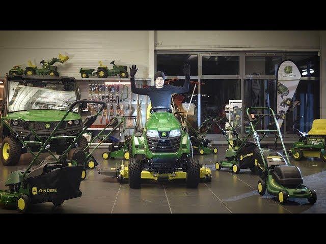 Öppet hus: Grönytemaskiner för hemmabruk