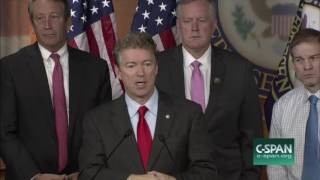 Rand Paul Answers Tough Questions on His Healthcare Plan | Obamacare Repeal