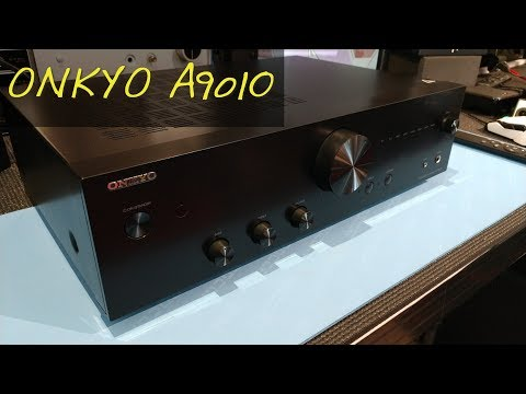 Z Review - Onkyo A9010 [The Return of Real Amplifiers] - YouTube