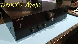 Z Review - Onkyo A9010 [The Return of Real Amplifiers]