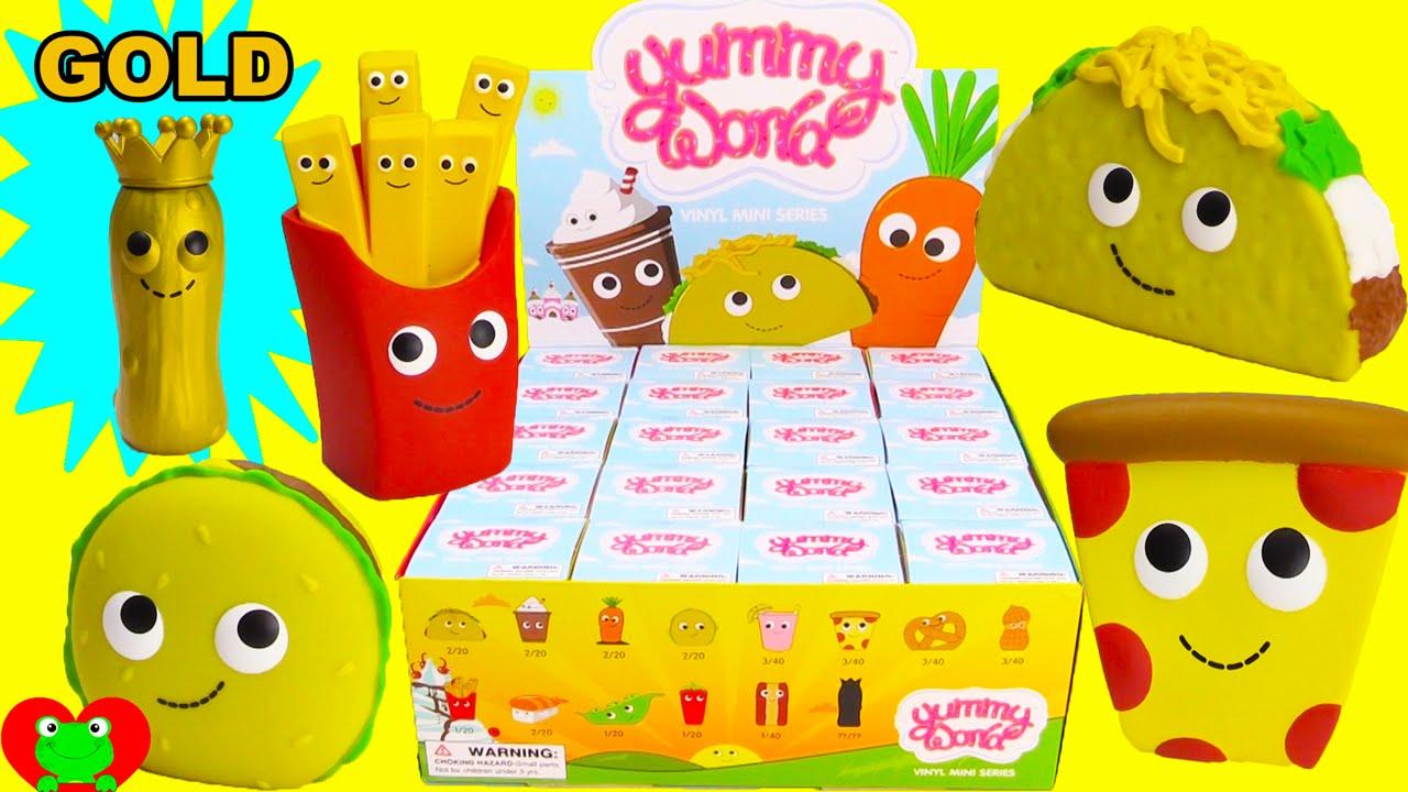 Yummy World Kidrobot Mini Series Blind Boxes Youtube