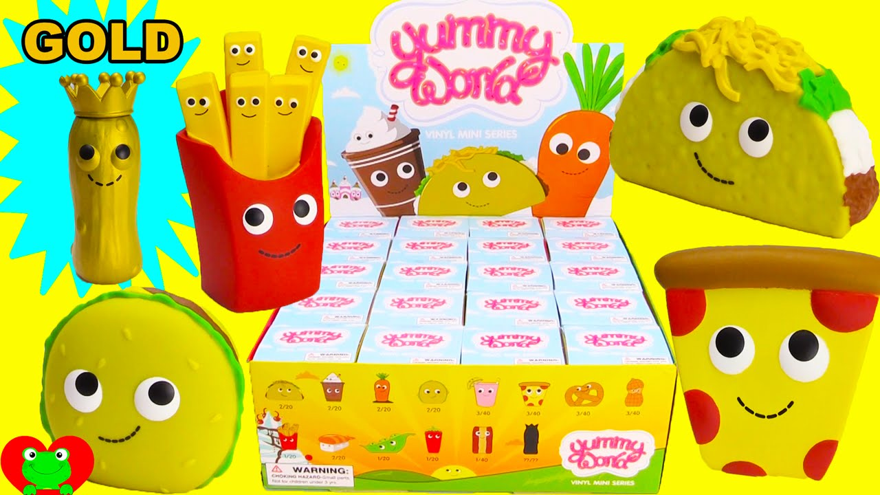 Yummy World Kidrobot Mini Series Blind Boxes Doovi