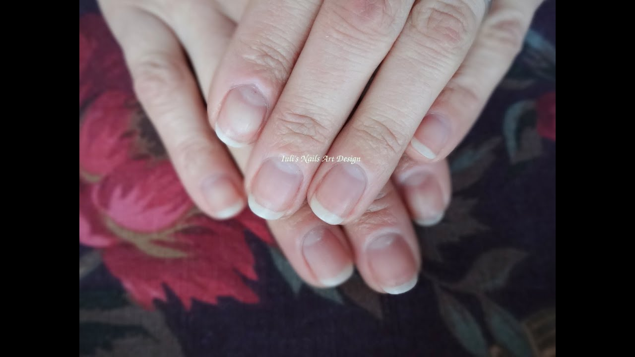 How to Shape Natural Square Nails in to Almond Shape ...