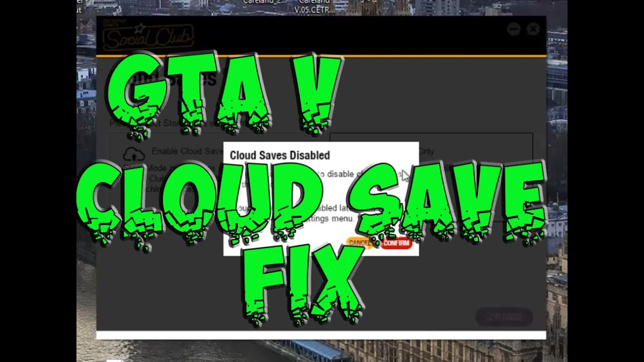 Gta V How to turn cloud saves on or off and fix corruption
