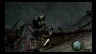 Resident Evil 4 ending (part 1: Last Boss)