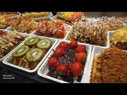 Street Food In Belgium, MUST TRY FOOD In Brussels,