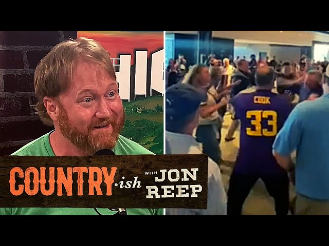 NFL Brawl Instigated By A WOMAN?!   Country·ish with Jon Reep
