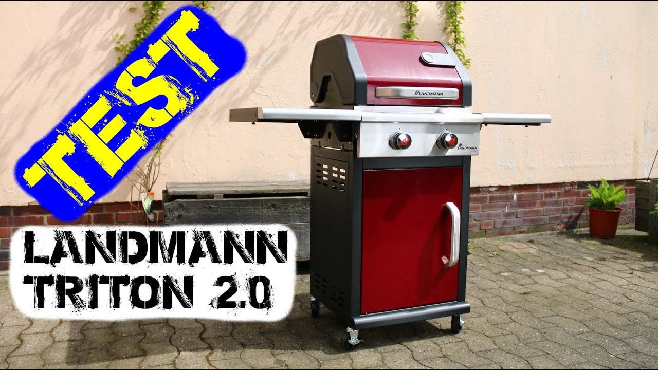 Landmann Gasgrill Im Test : Landmann triton 2.0 mit pts [test] youtube