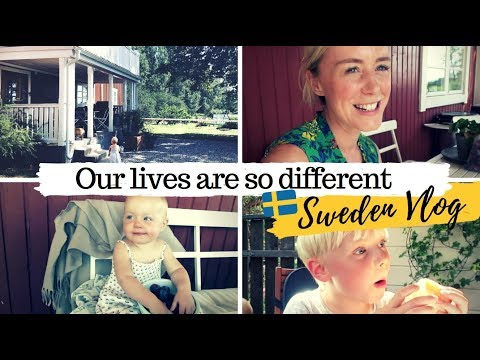 They live on a Farm & Swedish Fika with Grandma | Sweden Travel Vlog | SJ STRUM