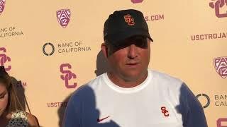 USC Football - 2018 Fall Camp #10: Clay Helton