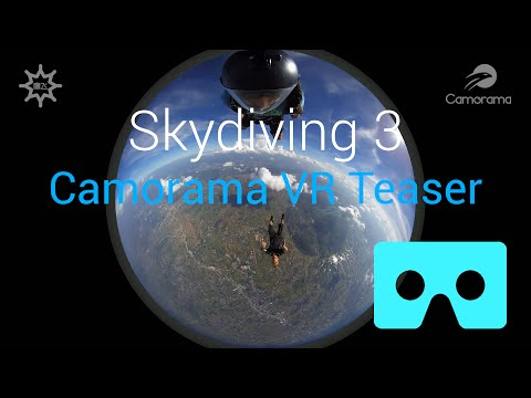 Skydiving 3 – Camorama 360 VR Teaser