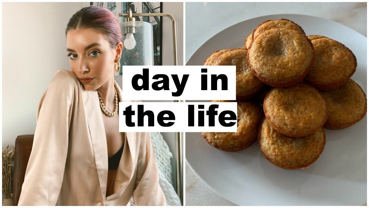 day in the life: try on haul, preparing to move & baking banana muffins | Keaton Milburn