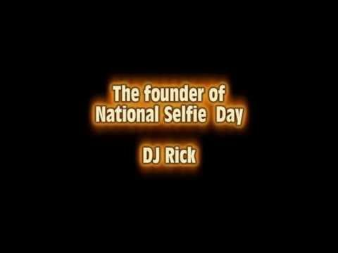 National selfie day founder DJ Rick