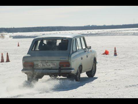 Ралли Москвич #9 | Ледовый дрифт на озере