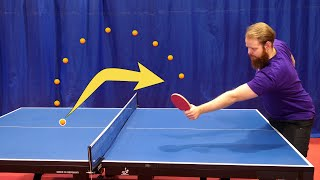Play Ping Pong Against Yourself (backspin)