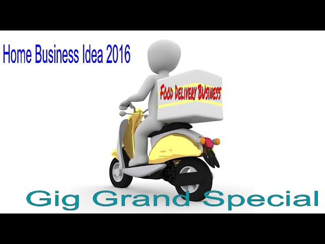 Homebased Food Delivery Business Idea 2016