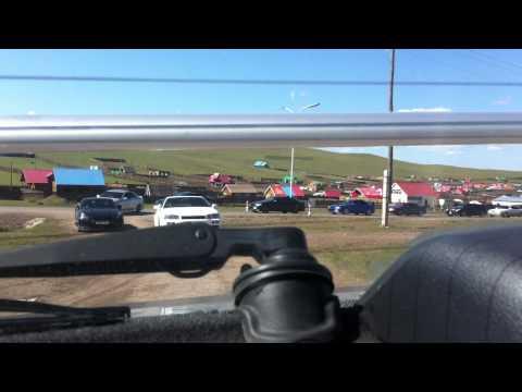 MONGOLIA Sport cars erdenetd tenej yabaa ni hehe