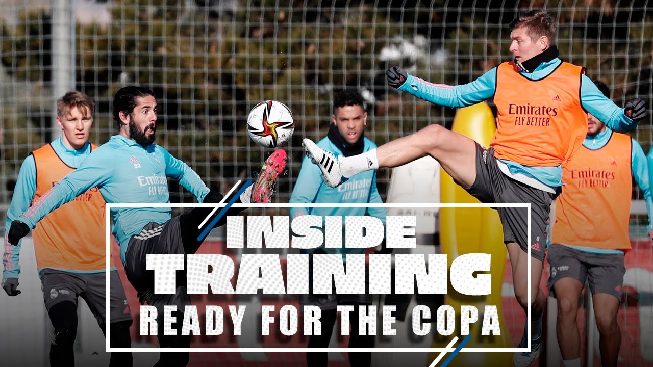 Real Madrid are all set for the Copa del Rey!