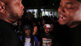 Danny Myers vs Geechi Gotti - AHAT Rap Battle