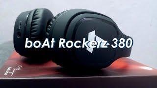 Boat Rockerz 380 Review: Best Bluetooth Headphone under 2000/$30?