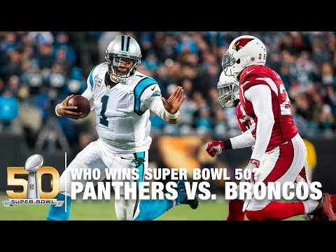 The Great Debate: Who Wins Super Bowl 50? | Panthers vs. Broncos | NFL Now