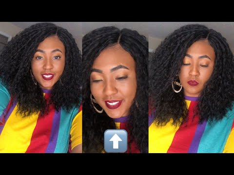 Whew Chile IDK About This One | NEW OUTRE LACE FRONT SYNTHETIC MIRENA WIG REVIEW | Gobeautyny