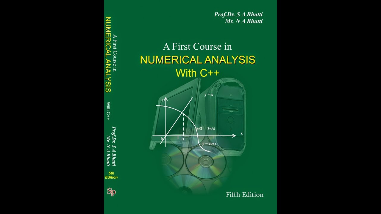 Numerical Methods With C++ Programming Book