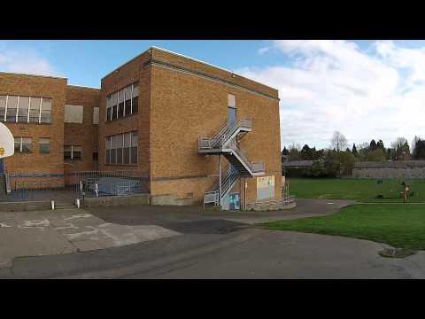 Hosford Middle School - DJI Phantom 2 Vision+ (2nd flight)