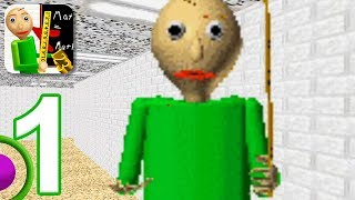 Baldi's Basics in Education - Gameplay Walkthrough Part 1 (iOS)