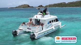 Power Catamarans, East Island Excursions, Fajardo, PR