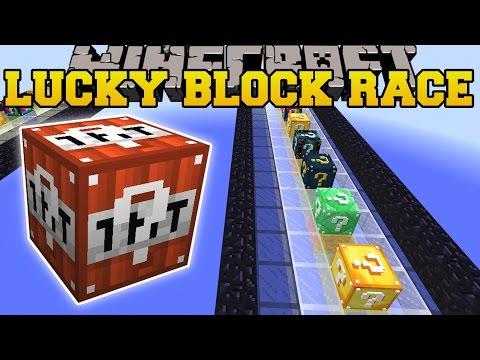Minecraft: SO MANY BLOCKS LUCKY BLOCK RACE - Lucky Block Mod - Modded Mini-Game