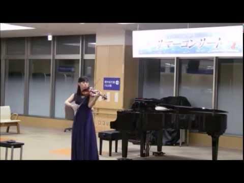 バッハの無伴奏ヴァイオリンソナタ1番からフーガ