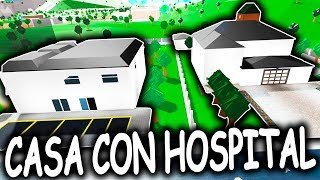 A CASA DO HOSPITAL? O BLOXBUG? ROBLOX