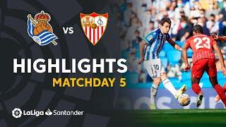 Реал Сосьедад  0-0  Севилья видео