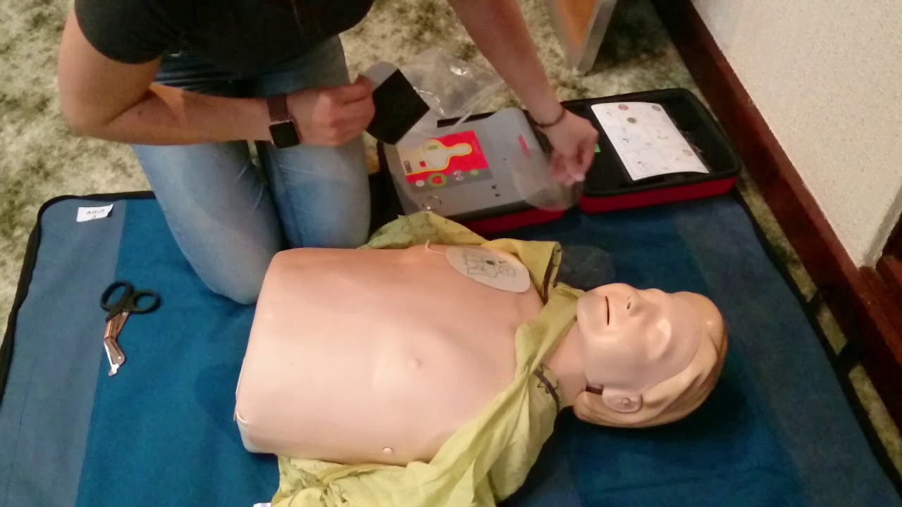 aed pad placement