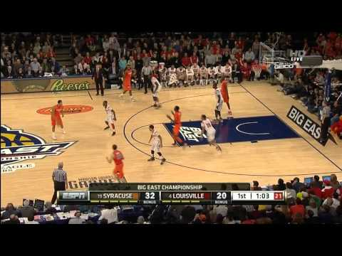 Big East Tournament Championship Game - #4 Louisville vs. #19 Syracuse 03/16/2013 (Full Game)