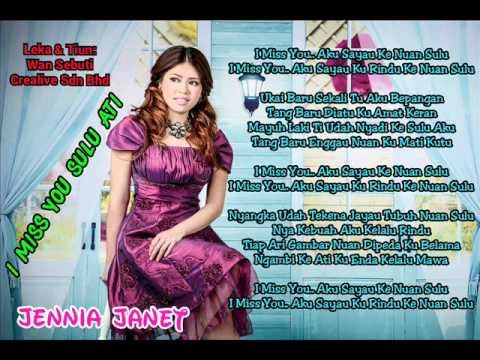 I Miss You Sulu Ati | Jennia Janet (lirik)