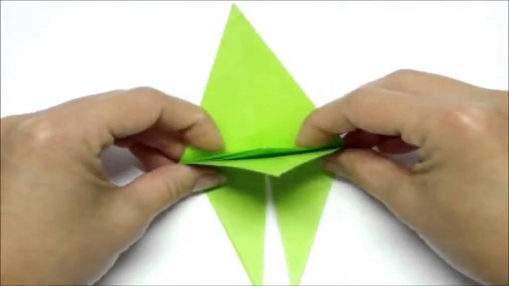 origami tsuru youtube