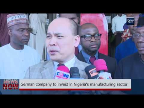 German company to invest in Nigeria's manufacturing sector