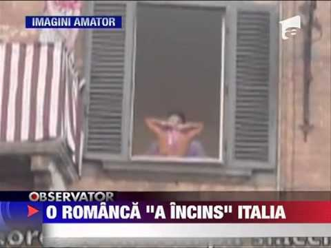 UPDATE Show sexy facut de o romanca in Italia 25 AUGUST 2011