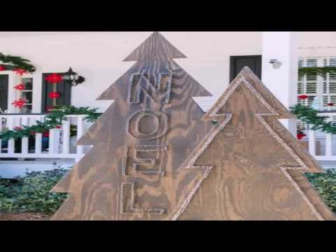 Diy Christmas Tree Yard Decorations Gif Maker - DaddyGif.com
